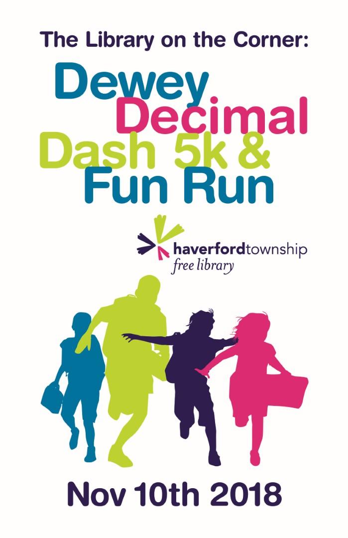 Dewey Decimal Dash 5k Fun Run Haverford Township Free Library